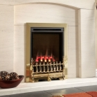 Image for Flavel Windsor Traditional HE Gas Fire Slide Control Brass - FSHC11SN2