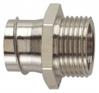 Image for Flex-it 20mm Nickel Plated Brass Fixed Fitting - CF20