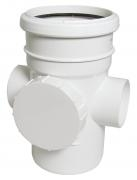 FloPlast 110mm Soil Access Pipes - Socket/Spigot