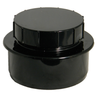 FloPlast 110mm Soil Screwed Access Caps
