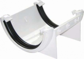 FloPlast 112mm Half Round Union Brackets