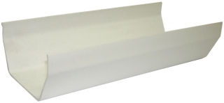 FloPlast 114mm Square Gutter - 2m Lengths