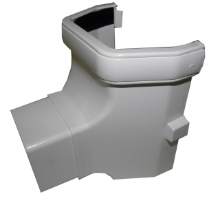 FloPlast 114mm Square Stop End Outlets