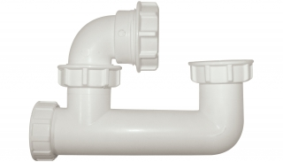 FloPlast 50mm Low Level Bath Trap