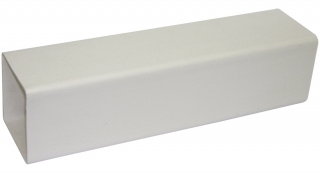 FloPlast 65mm Square Downpipe - 4m Lengths