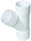 Image for FloPlast 40mm ABS Solvent Weld 135° Branch - White