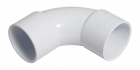 Image for FloPlast 50mm ABS Solvent Weld 92.5° Bend - White