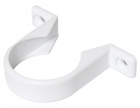 Image for FloPlast 40mm ABS Solvent Weld Pipe Clip - White