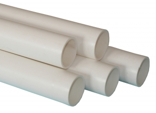 FloPlast ABS Solvent Weld Waste Pipe - 2m Lengths