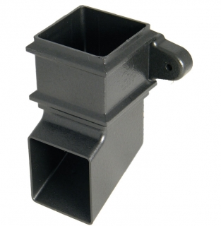 FloPlast Cast Iron Style 65mm Square Pipe Shoe