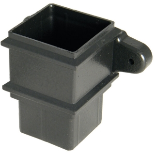 FloPlast Cast Iron Style 65mm Square Pipe Socket