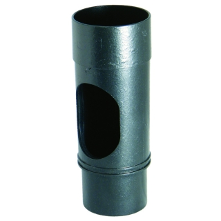 FloPlast Cast Iron Style 68mm Round Access Pipe