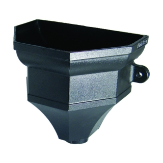 FloPlast Cast Iron Style Hopper - Ogee With Fixing Lugs