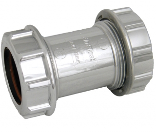 FloPlast Chrome Compression Waste Couplings