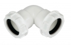 FloPlast Compression Waste 90° Bends