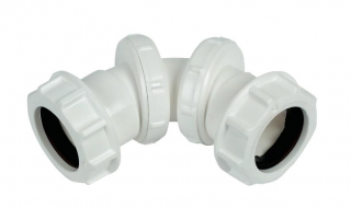 FloPlast Compression Waste Adjustable Bends