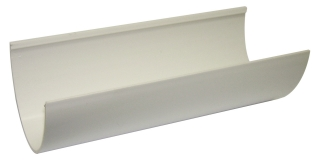 FloPlast Hi-Cap Gutter - 4m Lengths