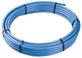 FloPlast MDPE Blue Pipe Coils