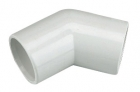 FloPlast Overflow 135° Bends - White