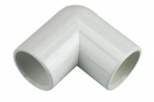 FloPlast Overflow 90° Bends - White