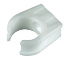 Image for FloPlast 21.5mm Overflow Pipe Clip - White