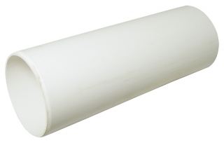 FloPlast Plain Ended Soil Pipe - 3m Lengths