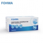 Image for Fohwa Disposable 3ply Face Coverings Box of 100 - ST50FM15