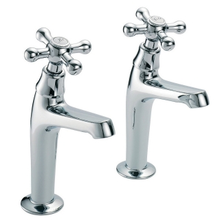 Francis Pegler Souvenir Kitchen Pillar Taps (Pair)