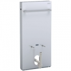 Image for Geberit Monolith for 1010mm Bidet - White Glass - 131.030.SI.5