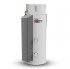 Image for Gledhill PulsaCoil 180L Stainless Thermal Store Cylinder Right Hand Connections