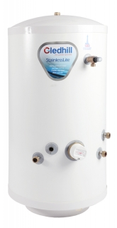 Gledhill Stainless Lite Open Vented Direct Stainless Steel Hot Water Cylinder
