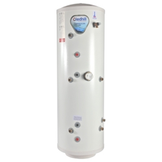 Gledhill Stainless Lite Vented Cylinder - Triple Coil Indirect