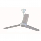 """Image for Global  48"""" White Commercial Fan with 12"""" & 24"""" Drop Rods"""