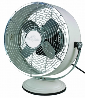 "Global 10"" Retro Desk Fans"