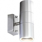 Image for Globo 3201-2L Outdoor Up & Down 5W IP44 Stainless Steel Wall Light