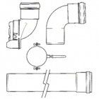 Image for Glow-worm Plume Management Kit (White) - 0020219532