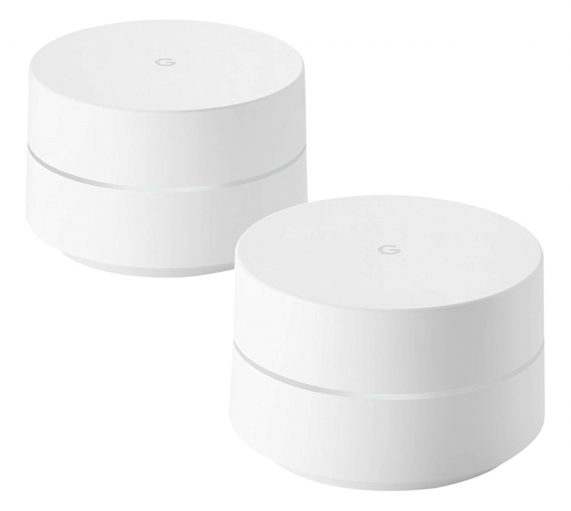 google wifi whole home system twin pack smart home. Black Bedroom Furniture Sets. Home Design Ideas