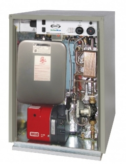 Grant VortexBlue 26kW External Floor Standing Combination Boiler Oil ErP