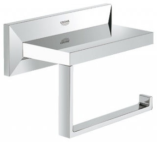 Grohe Allure Brilliant Toilet Roll Holder 40499