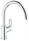 Grohe BauEdge Monobloc Kitchen Sink Mixer Tap 31367000