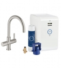 GROHE Blue Chilled Starter Kit SuperSteel