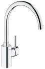 Grohe Concetto Chrome High Spout Kitchen Sink Mixer 32661001