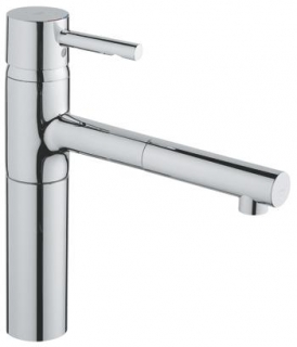 Grohe Essence Kitchen Sink Mixer - Swivel/Extractable Spout 32171