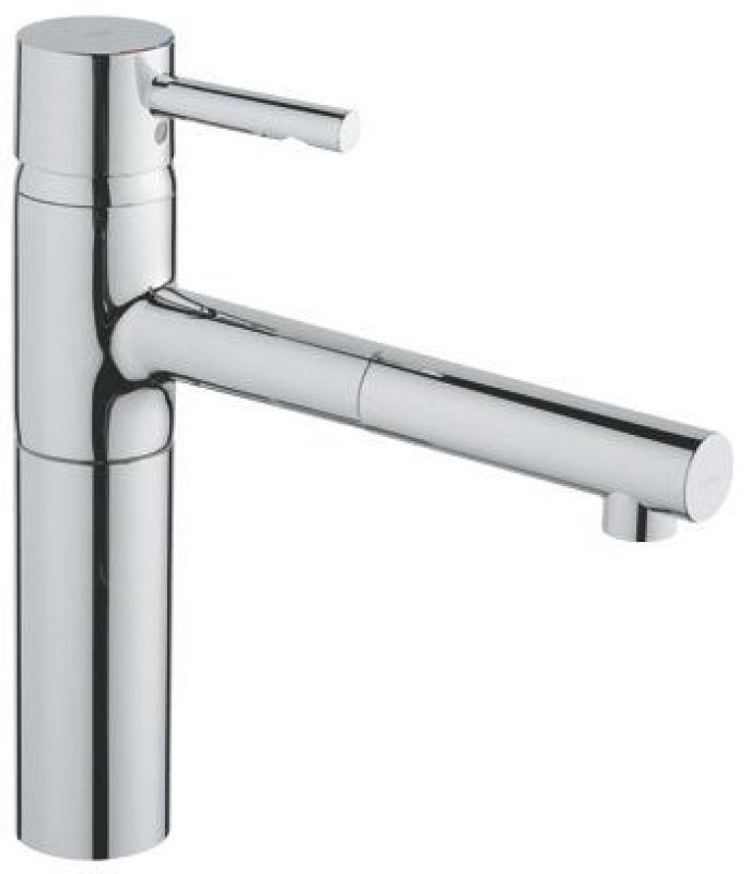 grohe essence kitchen sink mixer swivel extractable spout 32171 kitchen tap. Black Bedroom Furniture Sets. Home Design Ideas