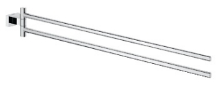 Grohe Essentials Cube Towel Bar 40624