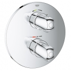 Image for GROHE Grohtherm 1000 Thermostatic Bath Shower Control Trim with 2-Way Diverter - 19986000