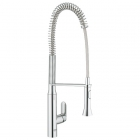 Image for Grohe K7 Chrome High Spout Professional Spray Kitchen Sink Mixer - 32950000