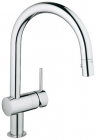 Grohe Minta Chrome Pull-Out Trigger Spray Kitchen Sink Mixer 32321000