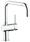 Grohe Minta Chrome U-Spout Kitchen Sink Mixer 32488000
