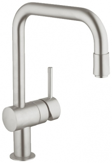 Grohe Minta SuperSteel Kitchen Sink Mixer 32067DC0